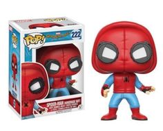 222 Funko Spider-Man: Homecoming Homemade Suit Pop! Vinyl Fig in-Stock #Funko