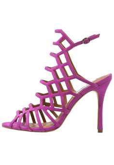 Steve Madden SLITHUR - High heeled sandals - fuchsia for with free delivery  at Zalando