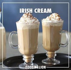 Coffee replaces the alcohol in this traditional Irish drink. Serve on ice or flavor your next cup of brew with this creamy drink.