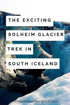 The Exciting Solheim Glacier Trek in South Iceland Iceland — The country that will take you one step closer to seeing the earth's natural beauty in its rugged form. My husband and I was privileged to visit Iceland and witnessed its magnificent and jaw-dropping natural landscape.