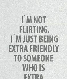Flirt saying