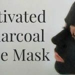 Activated Charcoal Face Mask #FaceMaskForWrinkles #CharcoalMaskPeel Activated Charcoal Face Mask, Charcoal Mask Benefits, Charcoal Mask Peel, Cucumber Face Mask, Avocado Mask, Best Peel Off Mask, Chocolate Face Mask, Face Mask For Blackheads, Aloe Vera Face Mask