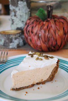 No-Bake Pumpkin Spice Cookie Butter Pie Recipe