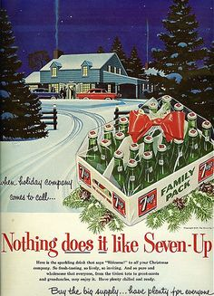 7up, 1950s