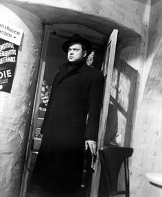 Orson Welles in The Third Man*0ne of my most favorite Orson movies!* (Carol Reed, 1949)