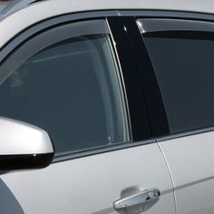 WeatherTech 72523 Series Light Smoke Front/Rear Side Window Deflector Set - Side Window Deflectors WeatherTech(R) Side Window Deflectors, offer fresh air enjoyment with an original equipment look, installing within the window channel. They are crafted from the finest 3mm acrylic material available. Installation is quick and easy, with no exterior tape needed. WeatherTech(R) Side Window Deflectors are precision-machined to perfectly fit your vehicle's window channel. These low profile window…