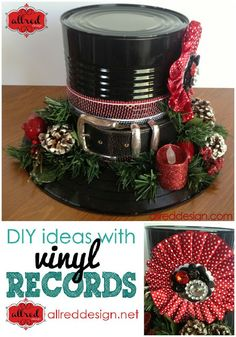 Snowman Holiday Hat Tutorial