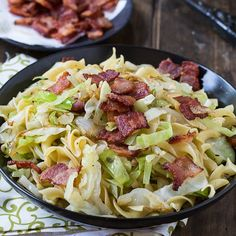 Simple Cabbage and Noodles | FaveSouthernRecipes.com