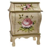 Nearly Natural Antique Night Stand w/Floral Art Nightstand, Beige/Pink/Gold Elegant Home Decor, Elegant Homes, Fashion Art, Gold Fashion, Art For Sale Online, Bedroom Furniture Stores, Furniture Sets, Furniture Outlet, Online Furniture