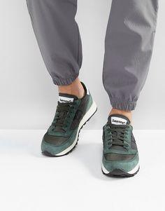 647237ab8f59 Saucony Jazz Original Vintage Sneakers In Green S70368-8