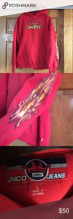 Jnco rare hoodie Condition 9/10 from 1997 vintage hoodie jnco Shirts Sweatshirts & Hoodies