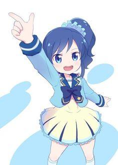 Aoi in Admin uniform