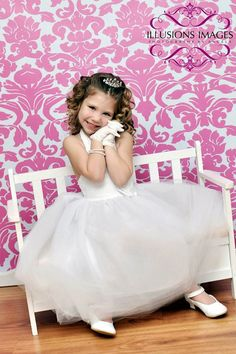 Flower Girl Dress In White Vintage by SignatureCollectionB, $99.99