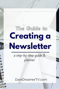 Grow your tribe with a consistent, epic newsletter.  Go through the process of determining who your readers are, how to serve them, and planning your newsletter.  Newsletter Planner Workbook included.