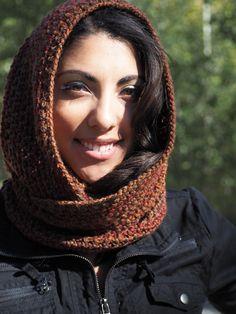 Ladies Wear, Women Wear, Winter Warmers, Hoods, Scarves, Detail, Lady, Crochet, How To Wear