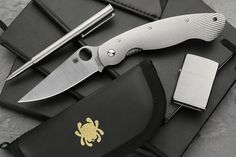 Discover all the details about the Spyderco Military Fluted Titanium and learn about the best flashlights and knives from the Everyday Carry enthusiast community on Massdrop.