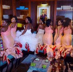 Bridesmaids Louboutins