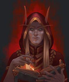 ArtStation - Blood Elf Noble, Ida Bogne