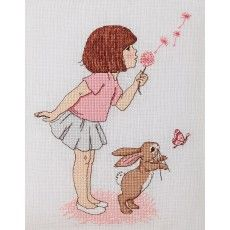 'Dandelion' Cross Stitch Pattern