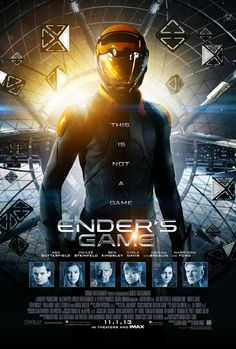 I didn't read the book, but I know that Ender's Game is a great, well-acted…