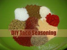 Juggling Act: Homemade Mild Taco Seasoning