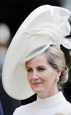 The Countess of Wessex in her stunning hat from Jane Taylor.