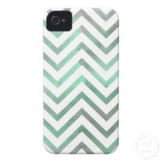 Mint White Chevron Iphone 4 Cover by OrganicSaturation #iphone #iphonecase #chevron #zigzag #pattern #iphonecover #mint #pastel