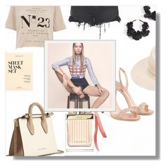 """""""Mustique"""" by caticorn16 ❤ liked on Polyvore featuring Strathberry, Oscar de la Renta, River Island, Chloé, Maison Michel, Alexander Wang, J.Crew and Giuseppe Zanotti"""