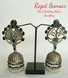 92.5% Sterling Silver Jewellery Specially handmade temple Jewellery