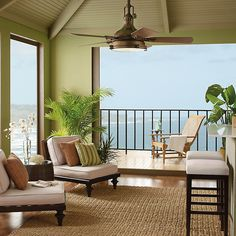 Kichler Hatteras Outdoor Patio Fan
