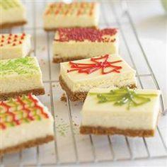 Honey Maid Holiday Cheesecake Presents Allrecipes.com