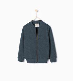 ZARA - KIDS - Bomber-style sweatshirt