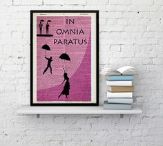 Check out this item in my Etsy shop https://www.etsy.com/listing/455982936/pink-in-omnia-paratus-poster-gilmore