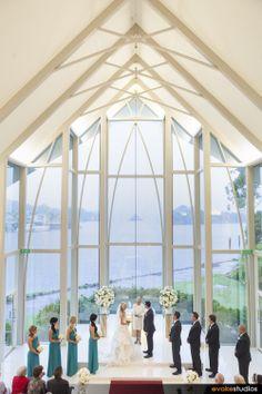 Bright Glass Back Chapel InterContinental Sanctuary Cove Resort