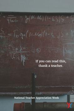 Teacher appreciation quote #thankateacher