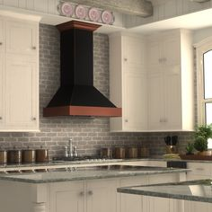This ZLINE 36 in. 760 CFM Designer Series wall mount black copper range hood (655-BCXXX-36) has a modern design and built-to-last quality that would make it a great addition to any home or kitchen remodel. This hood's high-performance 4-speed motor will provide all the power you need to quietly and efficiently ventilate your kitchen.