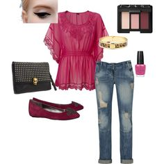 outfit, created by helena-arguelles