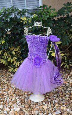 Purple Tutu Dress Lavender Princess Tutu Tutu Top by partiesandfun, $17.50. Also check out my shop for more ideas. www.partiesandfun.etsy.com
