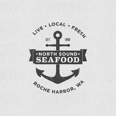 North Sound Seafood logo by Maddy Porter
