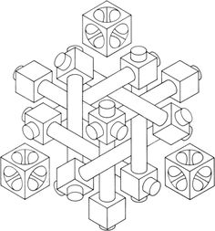 optical illusion coloring page - fractal coloring page beginning of year pinterest