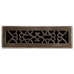 Heavy Cast Iron Floor Register Grate (Louvered) 002   SOLD! | Floor  Registers | Pinterest | Ferros E Pisos