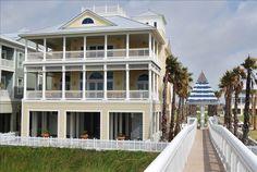 East Island Villa - Galveston Island's... - VRBO Beach House Vacation Rentals, Vacation Ideas, Beach Vacations, Island Villa, Galveston Island, Dream Beach Houses, Ideal Home, Future House, Condo