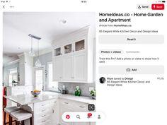 Kitchen Island, Kitchen Cabinets, Kitchen Ideas, Home Decor, Island Kitchen, Decoration Home, Room Decor, Cabinets, Home Interior Design
