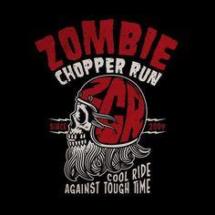"219 curtidas, 4 comentários - Bobber Cult (@bobbercult) no Instagram: ""New design for the Zombie Chopper Run!!!! #bobbercult #skull #zcr #zombiechopperrun #ftw…"""