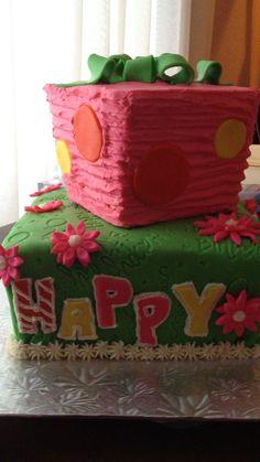 Kenzie's 1st birthday.