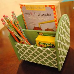 Kids' Homework: Fun Spaces, Stations and Caddies