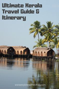 Kerala is righly known as the god's own country. I am sharing the ultimate kerala travel guide and itinerary for travelers. Kerala Travel, India Travel, India Trip, Bangkok Travel, Nightlife Travel, Japan Travel, Munnar, Kochi, British Architecture