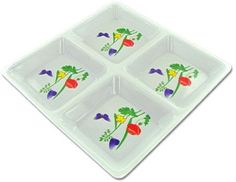 Four Section Plate Case Pack 12