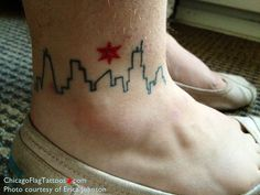 chicago flag tattoo | Chicago Flag Tattoos: November 2012 Archives