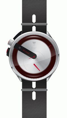 Unusual Watches, Elegant Watches, Cool Watches, Watches For Men, Men's Watches, Freestanding Fridge, Unique Clocks, Porsche, Time Out